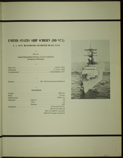 Page 11, 1979 Edition, O Brien (DD 975) - Naval Cruise Book online yearbook collection