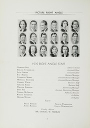 Page 10, 1938 Edition, Maryland Park High School - Right Angle Yearbook (Seat Pleasant, MD) online yearbook collection