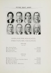 Page 11, 1938 Edition, Maryland Park High School - Right Angle Yearbook (Seat Pleasant, MD) online yearbook collection