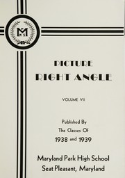 Page 5, 1938 Edition, Maryland Park High School - Right Angle Yearbook (Seat Pleasant, MD) online yearbook collection