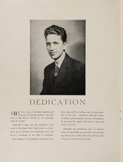 Page 4, 1946 Edition, Maryland Park High School - Right Angle Yearbook (Seat Pleasant, MD) online yearbook collection