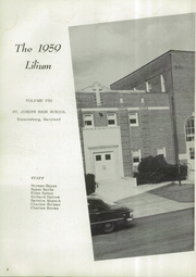 Page 6, 1959 Edition, St Joseph High School - Lilium Yearbook (Emmitsburg, MD) online yearbook collection