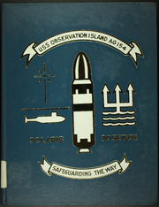 Page 1, 1971 Edition, Observation Island (AG 154) - Naval Cruise Book online yearbook collection