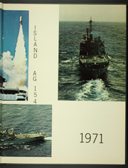 Page 7, 1971 Edition, Observation Island (AG 154) - Naval Cruise Book online yearbook collection