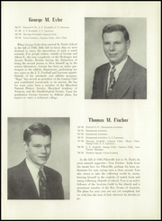 Page 21, 1950 Edition, St Pauls School - Crusader Yearbook (Brooklandville, MD) online yearbook collection