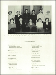 Page 12, 1956 Edition, St Pauls School - Crusader Yearbook (Brooklandville, MD) online yearbook collection