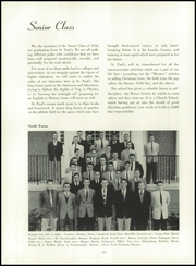 Page 14, 1956 Edition, St Pauls School - Crusader Yearbook (Brooklandville, MD) online yearbook collection