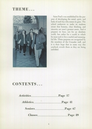 Page 10, 1959 Edition, St Pauls School - Crusader Yearbook (Brooklandville, MD) online yearbook collection