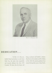 Page 11, 1959 Edition, St Pauls School - Crusader Yearbook (Brooklandville, MD) online yearbook collection