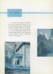 Page 12, 1959 Edition, St Pauls School - Crusader Yearbook (Brooklandville, MD) online yearbook collection