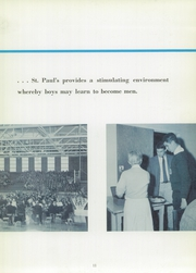 Page 15, 1959 Edition, St Pauls School - Crusader Yearbook (Brooklandville, MD) online yearbook collection
