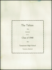 Page 8, 1948 Edition, Taneytown High School - Tahian Yearbook (Taneytown, MD) online yearbook collection