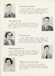 Page 12, 1952 Edition, Taneytown High School - Tahian Yearbook (Taneytown, MD) online yearbook collection