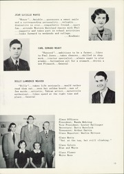 Page 17, 1952 Edition, Taneytown High School - Tahian Yearbook (Taneytown, MD) online yearbook collection