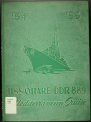 1955 Edition, O Hare (DDR 889) - Naval Cruise Book