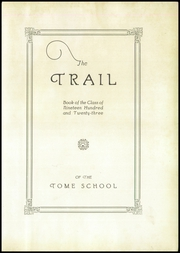 Page 7, 1923 Edition, Tome High School - Trail Yearbook (North East, MD) online yearbook collection