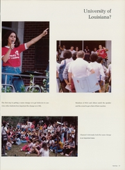 Page 17, 1981 Edition, Southwestern Louisiana Institute - Lacadien Yearbook (Lafayette, LA) online yearbook collection