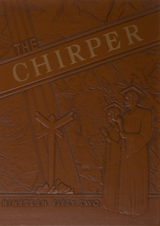 1952 Edition, Federalsburg High School - Chirper Yearbook (Federalsburg, MD)