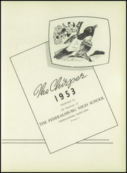 Page 7, 1953 Edition, Federalsburg High School - Chirper Yearbook (Federalsburg, MD) online yearbook collection