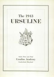 Page 7, 1943 Edition, Ursuline Academy - Yearbook (Cumberland, MD) online yearbook collection