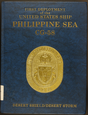 1991 Edition, Philippine Sea (CG 58) - Naval Cruise Book
