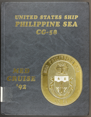 1992 Edition, Philippine Sea (CG 58) - Naval Cruise Book