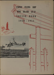 Page 5, 1951 Edition, Pine Island (AV 12) - Naval Cruise Book online yearbook collection