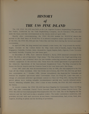 Page 9, 1964 Edition, Pine Island (AV 12) - Naval Cruise Book online yearbook collection