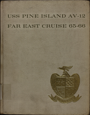 Page 1, 1966 Edition, Pine Island (AV 12) - Naval Cruise Book online yearbook collection