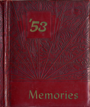 1953 Edition, Lisbon High School - Memories Yearbook (Lisbon, MD)