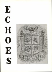 Page 5, 1967 Edition, Southern High School - Echoes Yearbook (Lothian, MD) online yearbook collection
