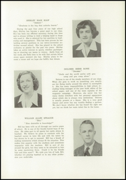 Page 15, 1952 Edition, Wolfe High School - Wolverine Yearbook (Union Bridge, MD) online yearbook collection