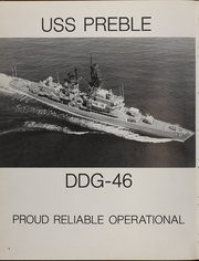 Page 8, 1981 Edition, Preble (DDG 46) - Naval Cruise Book online yearbook collection