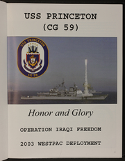 Page 5, 2003 Edition, Princeton (CG 59) - Naval Cruise Book online yearbook collection