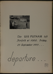 Page 17, 1954 Edition, Putnam (DD 757) - Naval Cruise Book online yearbook collection