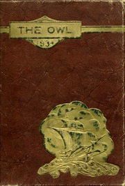 1934 Edition, Evening High School - Owl Yearbook (Baltimore, MD)