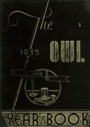 1935 Edition, Evening High School - Owl Yearbook (Baltimore, MD)