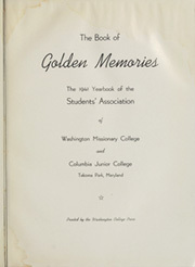Page 7, 1941 Edition, Washington Missionary or Columbia Junior College - Memories Yearbook (Takoma Park, MD) online yearbook collection