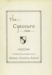 Page 11, 1926 Edition, Gilman School - Cynosure Yearbook (Baltimore, MD) online yearbook collection