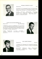 Page 16, 1967 Edition, Gilman School - Cynosure Yearbook (Baltimore, MD) online yearbook collection