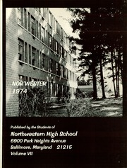 Page 5, 1974 Edition, Northwestern High School - Nor Wester Yearbook (Baltimore, MD) online yearbook collection