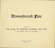 Page 2, 1902 Edition, Goucher College - Donnybrook Fair Yearbook (Baltimore, MD) online yearbook collection