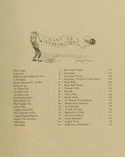 Page 13, 1891 Edition, Johns Hopkins University - Yearbook (Baltimore, MD) online yearbook collection