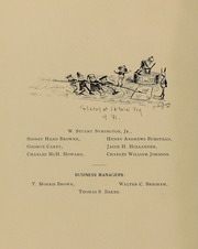 Page 14, 1891 Edition, Johns Hopkins University - Yearbook (Baltimore, MD) online yearbook collection