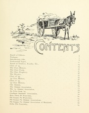 Page 11, 1893 Edition, Johns Hopkins University - Hullabaloo Yearbook (Baltimore, MD) online yearbook collection