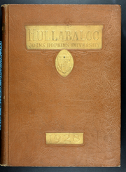 1928 Edition, Johns Hopkins University - Yearbook (Baltimore, MD)