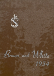 1954 Edition, Landon School - Brown and White Yearbook (Bethesda, MD)
