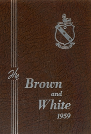 1959 Edition, Landon School - Brown and White Yearbook (Bethesda, MD)