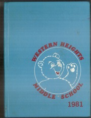 1981 Edition, Western Heights Middle School - Yearbook (Hagerstown, MD)