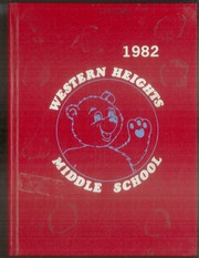 1982 Edition, Western Heights Middle School - Yearbook (Hagerstown, MD)